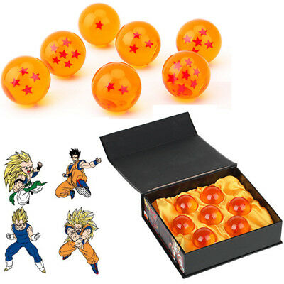 DragonBall Z Anime Stars Crystal Ball Set Of 7PCS New in Box Gift Collection