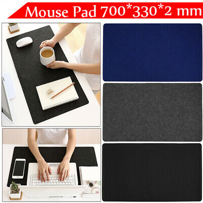 Large 70cm Gaming Mouse Pad Extended Desk PC Mousepad Soft Table Cushion Mat AU