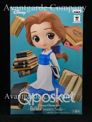 Banpresto Q Posket Belle Country Style Color A Beauty And The Beast 100% Real