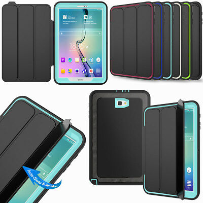 """For Samsung Galaxy Tab S2 8.0"""" S3 9.7"""" Shockproof Smart Auto Wake Case Cover"""