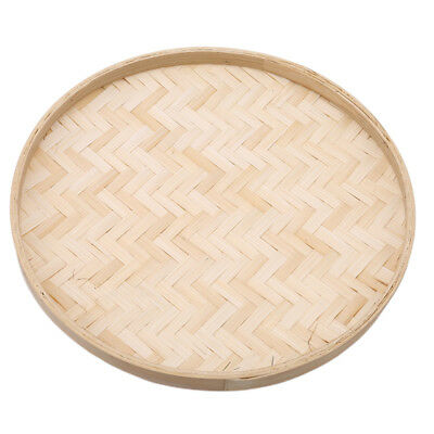 Hand-Painted Bamboo Raft Home Decor Hand-Woven Bamboo Basket Wall Decorative BE