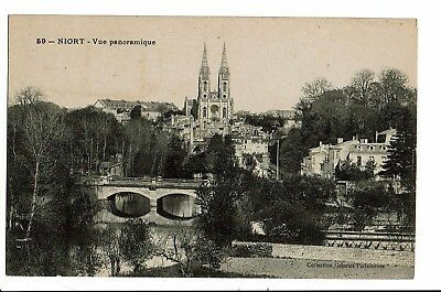 CPA - Carte postale - FRANCE - Niort- Vue Panoramique  - S4467