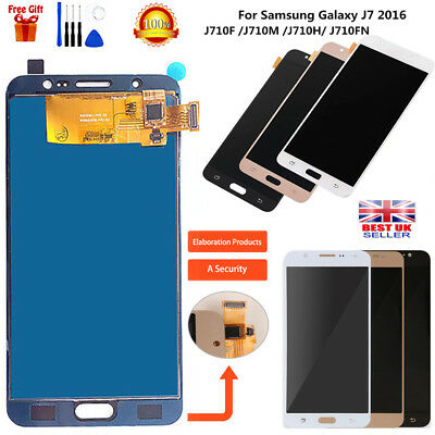 For Samsung Galaxy J7 2016 J710F J710FN LCD Touch Screen Replacement Digitizer