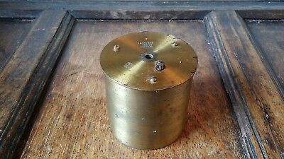 1890's Barograph Recording Movement Brass Rf Paris - Spares Or Repair