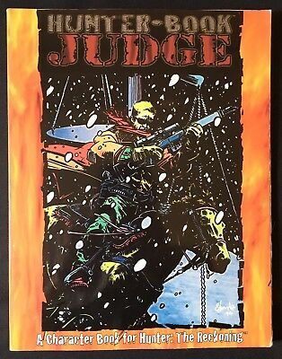 Hunter the Reckoning - Hunter-Book: JUDGE - White Wolf WW8107