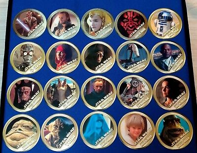 Star Wars  Nagatanien 1999 Japanese Promo Collectible 20 Cards Complete Set