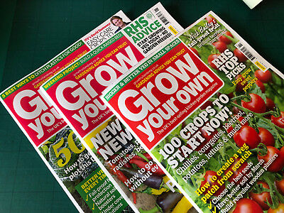 Grow Your Own Garden Magazine - December 2018, January & February 2019