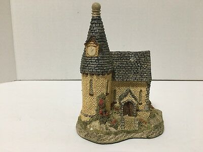 """The Chapel"" by David Winter Ceramic depiction 1984 hand made & painted England"