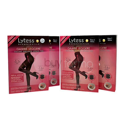 LIGNE LYTESS JAMBES LÉGER - Collants Amincissante Opaque Moka - Taille 1 2 3 4