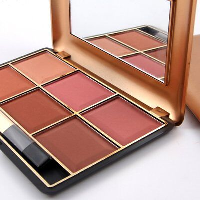 South American Style Blush Makeup Cosmetic Natural Blusher Powder Palette SW