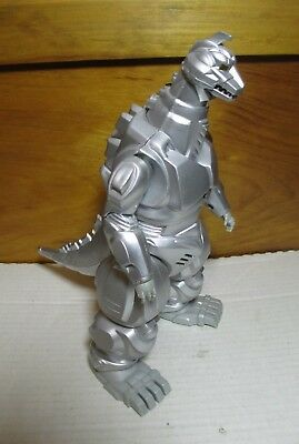 "1994 10"" Giant Mecha Godzilla Kaiju Figure w/ Light & Sound Trendmasters"