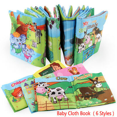 1pc Intelligence development Cloth Bed Cognize Book Educational Toy for Kid Baby