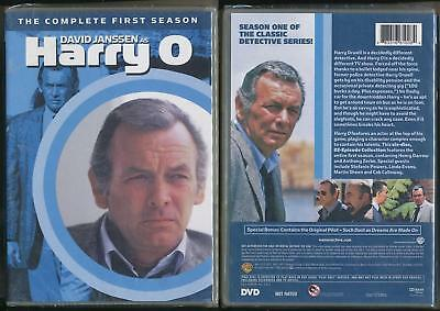 Harry O 6-Disc Dvd New Sealed The Complete First Season David Janssen 1St One !!