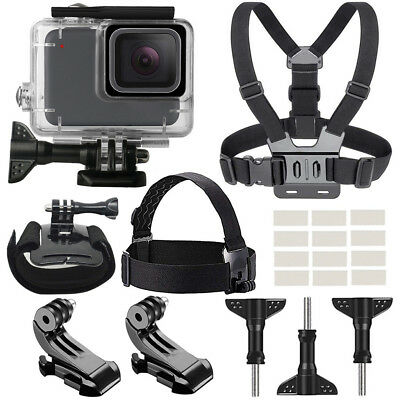 For GoPro Hero7 White/Silver Waterproof Case Diving 45m Protective Housing Shell