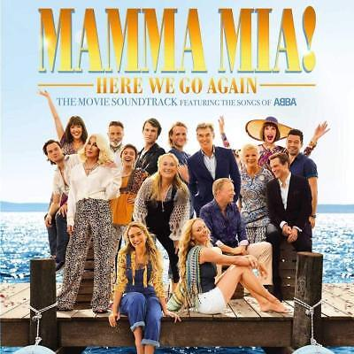 Mamma Mia Here We Go Again Movie Film Soundtrack Full 18 Track CD Album New 2018