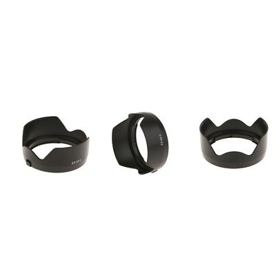 3 Pack Bayonet Mount Lens Hood for Canon EOS EF 50mm f/1.8 STM 49mm Lenses