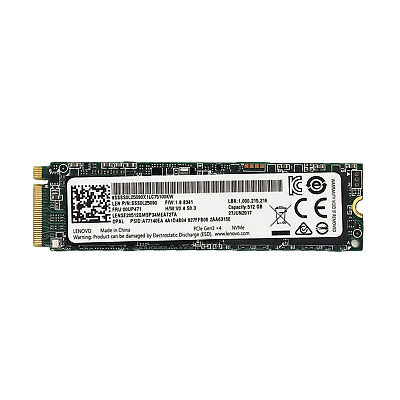 Lenovo 512GB M.2 Interne SSD 00UP471 2280 Solid State-Laufwerk PCIe 3.0 x4 NVMe