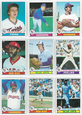 1979 79 Topps LOT-YOU PICK SINGLES 35 selections / $2 -- COMPLETE YOUR SET! 6/11