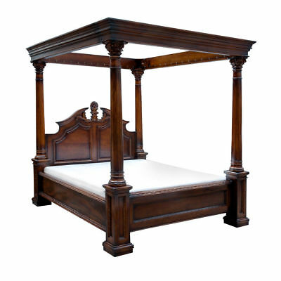 NEW BOXED WILLIS AND GAMBIER CHESTNUT HILLS SUPERKING 4 POSTER BED 180 cm 6FT