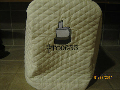 New FOOD PROCESSOR appliance covers, choose from RED, BLACK or IVORY/CREAM