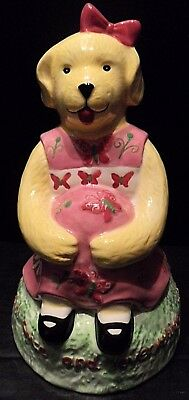 Piggy Bank Dog Doggy Sunny Kelly B Rightsell Sugar and Spice Everything Nice