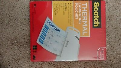 Thermal Off To College Laminating Pouches, 8.9 X 11.4 -Inches, 3 Mil Thick,