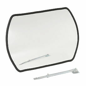 """Outdoor Wide Angle Convex Safety Mirror, 20"""" x 30"""", Acrylic, 160°, Lot of 1"""