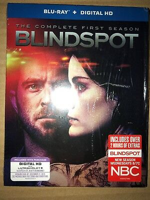 Blindspot: The Complete First Season  Blu ray NO DIGITAL COPY