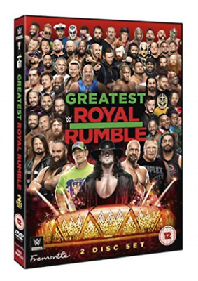 wwe WRESTLING GREATEST ROYAL RUMBLE 2018 NEW  REGION PAL DVD