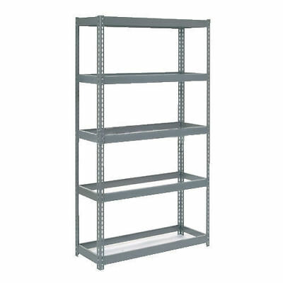 "Boltless Extra Heavy Duty Shelving 48""W x 24""D x 96""H, 5 Shelves, No Deck, Lot"