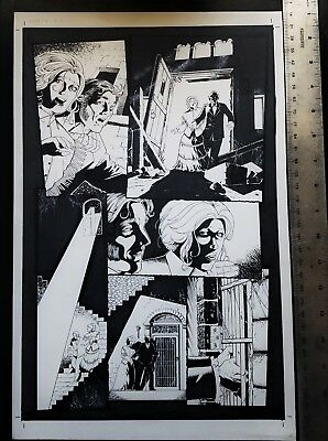 ORGY OF THE VAMPIRES #2/ Page 2 Original Art by Mike Wolfer!