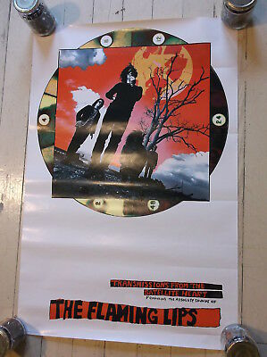 FLAMING LIPS - Transmissions vintage POSTER promotional only
