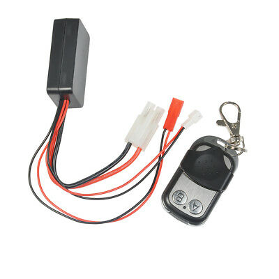 Wireless Remote Receiver Winch Control For 1/10 RC Crawler Off Road Truck Car