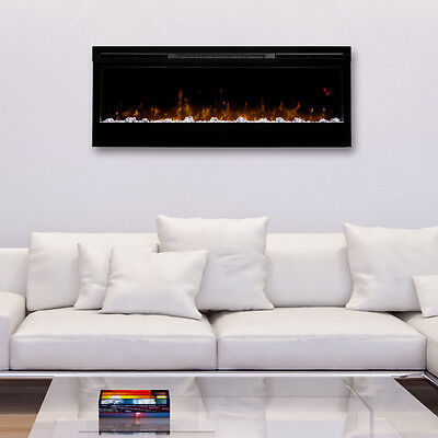 Remarkable Dimplex Prism Wall Mount Linear Electric Fireplace Insert Interior Design Ideas Clesiryabchikinfo