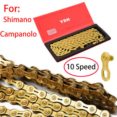 Gold New YBN 9 Speed H9 Bike Bicycle Chain Road 116 Links US SELLER