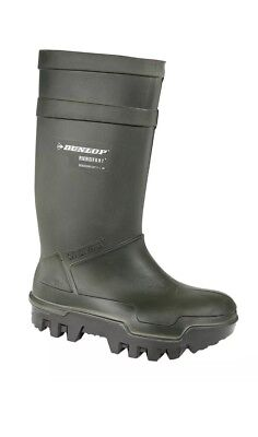 Dunlop Purofort Thermo Full Safety Welly's Boots Insulated size UK 8 RRP £120