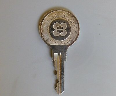 "Vintage Hotel Key for Room #503 ""Hyatt Regency"" Fort Worth Texas - GUC"