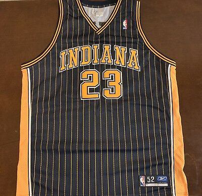 c22f5f524 Rare Vintage Reebok NBA Indiana Pacers Ron Artest Metta World Peace Jersey