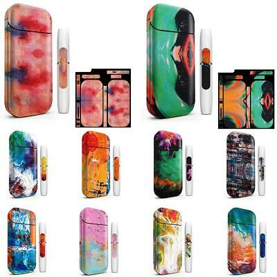 Universal Skin Sticker Oil Painting Series For IQOS 2.4 Plus Portable Protective