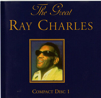 The Great Ray Charles CD Compilation 15 Tracks Blues Soul Classics