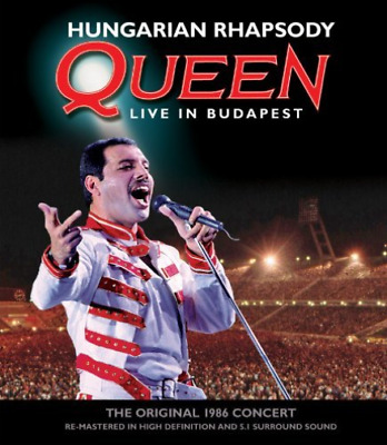 QUEEN-HUNGARIAN RHAPSODY: QUEEN LIVE IN BUDAPEST (Importación USA) Blu-Ray NUEVO