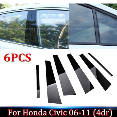 Fits Ford Expedition 03-06 Chrome B-Pillar Post Mirror Door Covers