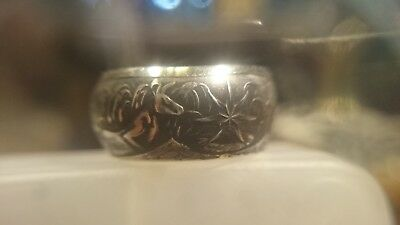 Silver or Gold Custom Australia Coin Ring size 1-16 upto Z+7 handmade jewellery