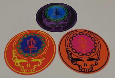 "~~New-3-4"" Disc Golf Sticker-Ace Your Face--Very High Quality~~"