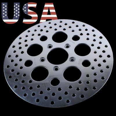 Front Brake Disc Rotor For Harley XL1200 XL883 Fat Boy Softail Dyna FXD FXDL