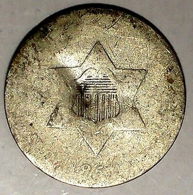 1851 3C Three Cent Silver Piece act 75% Silver Only 50 for Cents Shipping