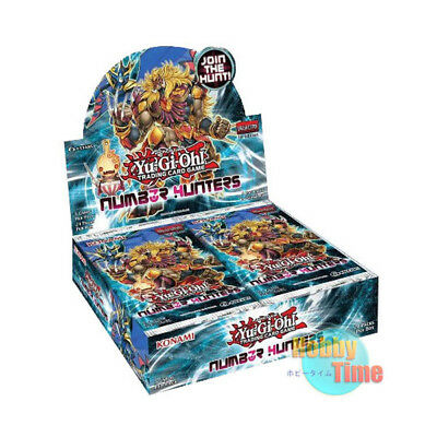 Yugioh English Number Hunters Booster Box 1st Edition Factory Sealed!