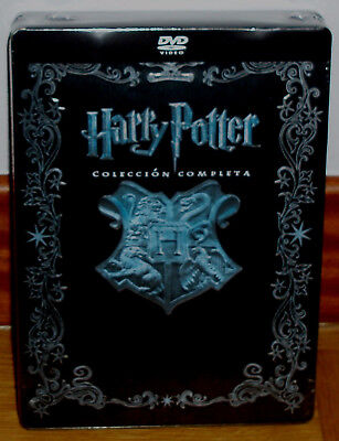 Harry Potter Collection Complete 1-8 Dvd Box Metal Jumbo New Sealed R2