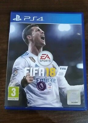 Fifa 18 Ps4 Mint condition