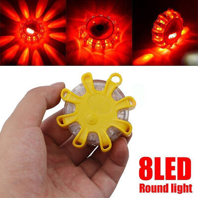 1Pack Beacon Magnetic Road Flare Flash Emergency Strobe Warning LED Safety Light